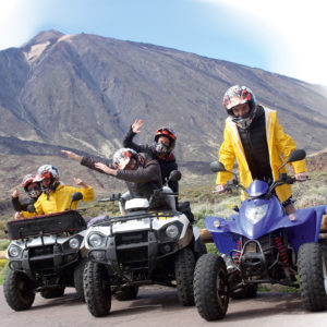 quad biking Tenerife