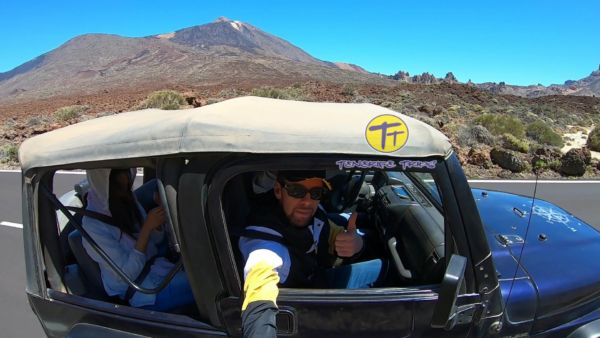 Jeep safari Tenerife