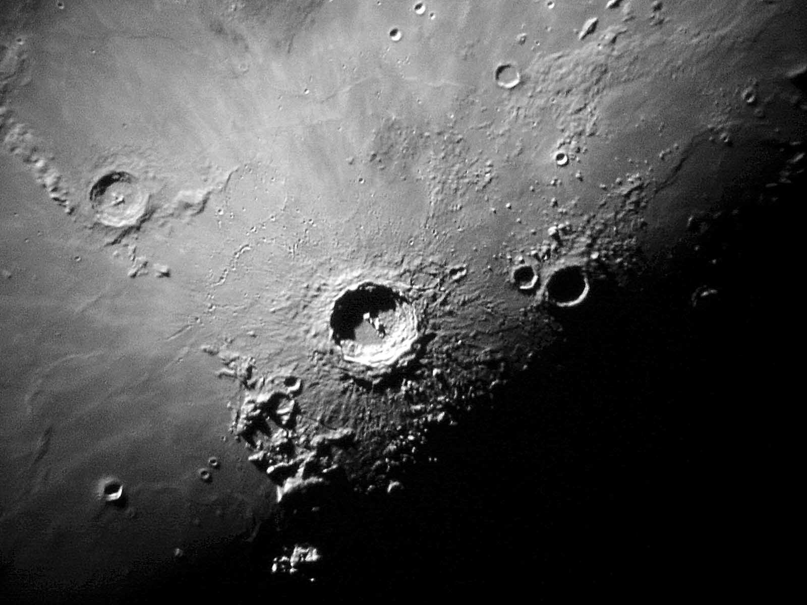 Asteroid Impacts Increased Million Years Ago Lunar Craters Reveal