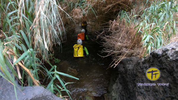 canyoning tenerife