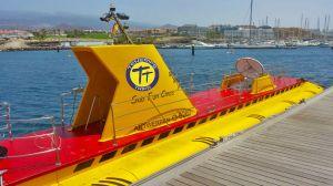 submarine tenerife